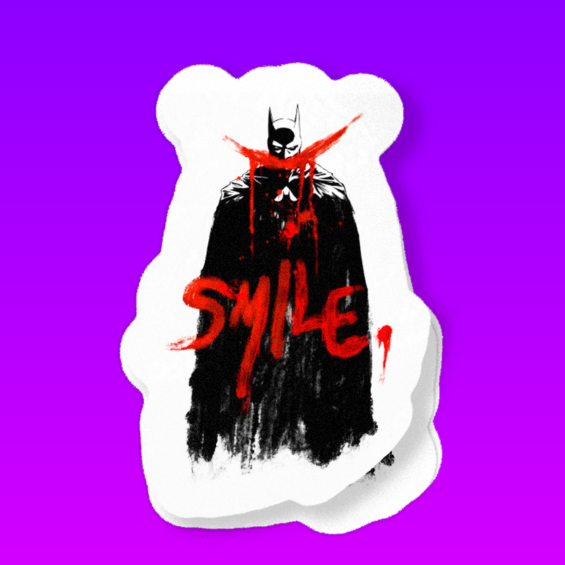 Batman Should Smile !