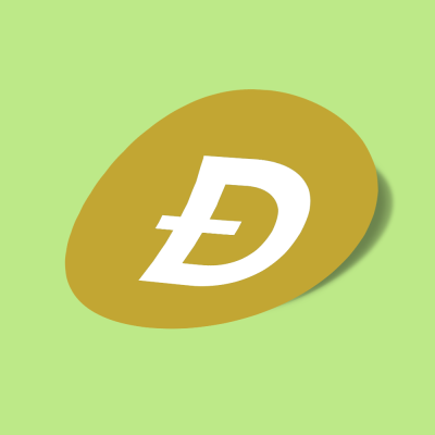 استیکر dogecoin-doge-logo-alternative
