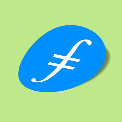 استیکر filecoin-fil-logo
