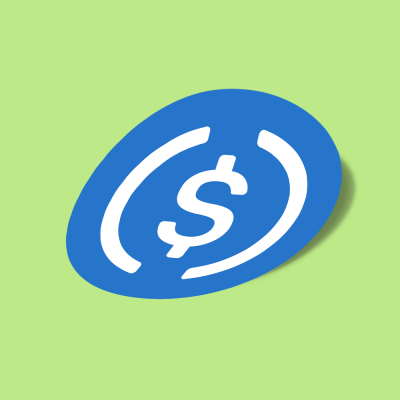 استیکر usd-coin-usdc-logo