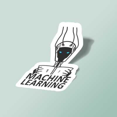 استیکر machine learning robot