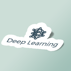 استیکر Deep Learning Logo