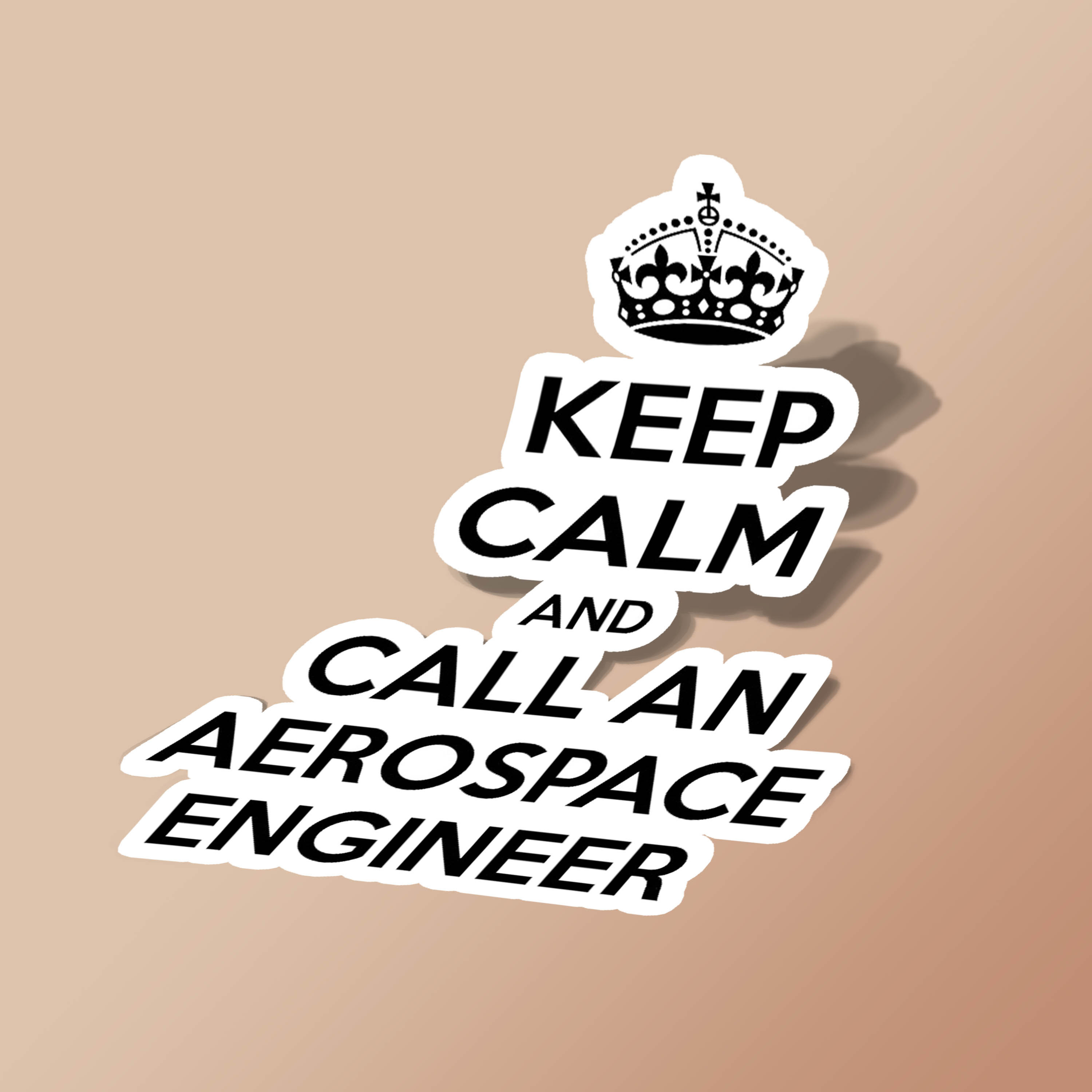 Keep Calm and Call An Aerospace Engineer