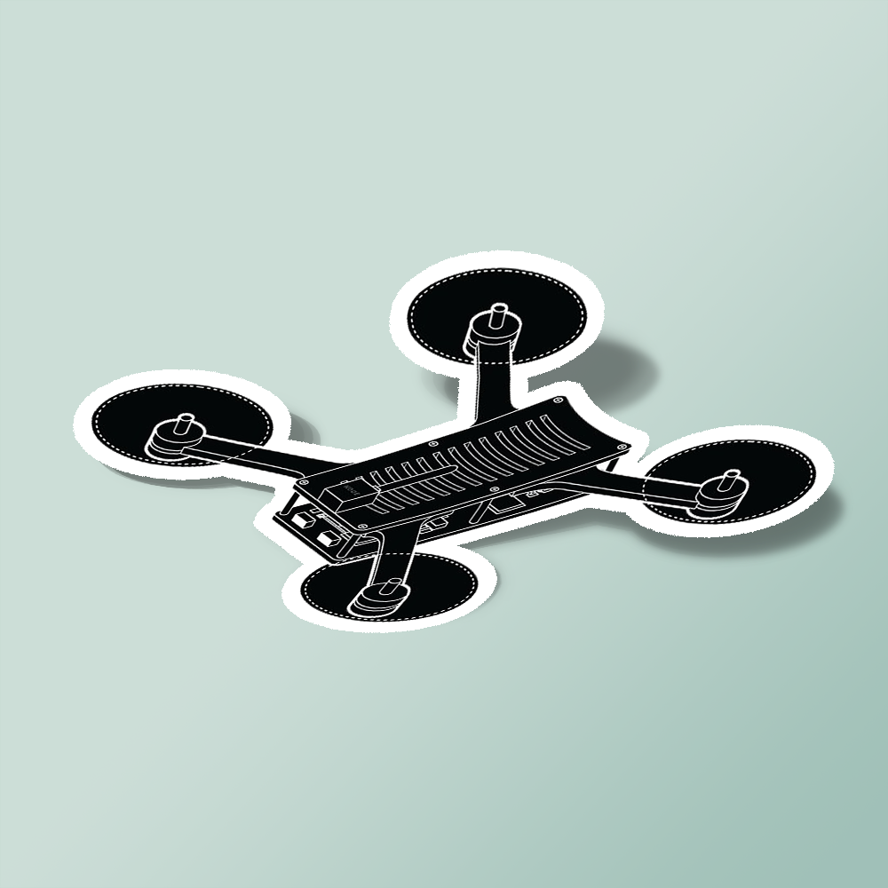 NODE - Drone Racing Sticker