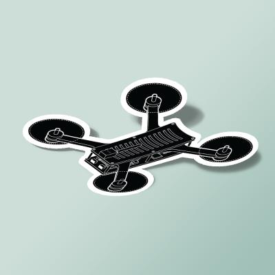 استیکر NODE - Drone Racing Sticker