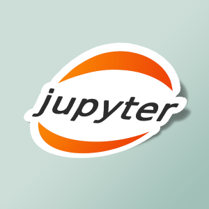 استیکر jupyter notebook