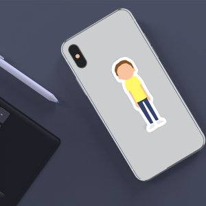 استیکر Morty Sticker
