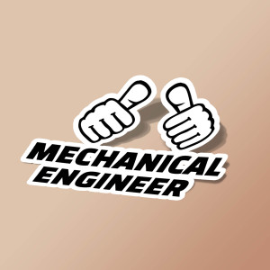 استیکر Mechanical engineer 2