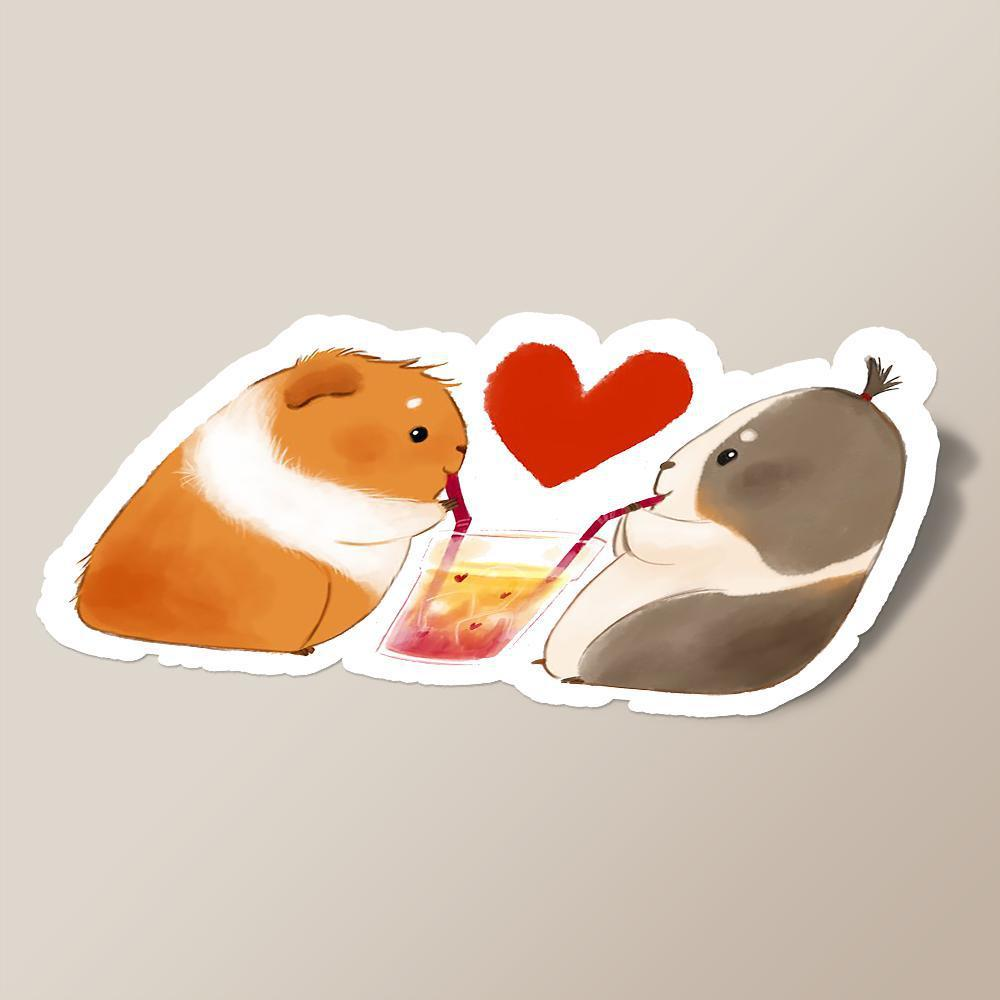 Guinea Pigs in love
