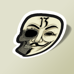 استیکر v for vendetta mask