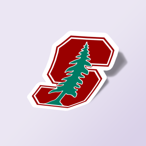 استیکر stanford university tree logo