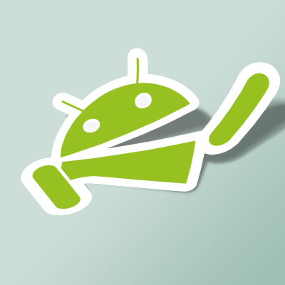 استیکر Hungry android