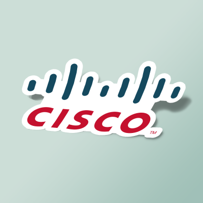 استیکر CISCO LOGO