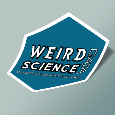 استیکر weirddatascience