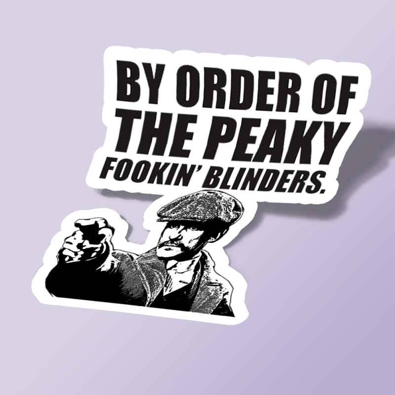 استیکر By Order of the Peaky Blinders 08