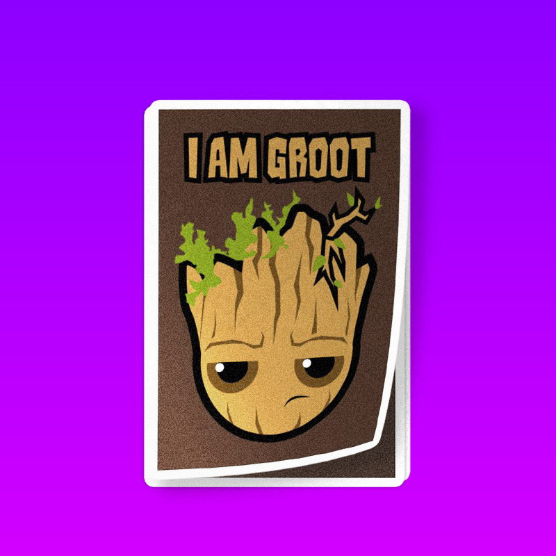 I am sad Groot