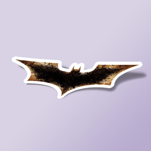 استیکر batman bat logo 01