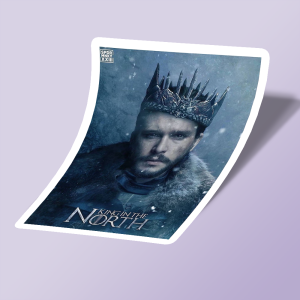 استیکر king in the north 01