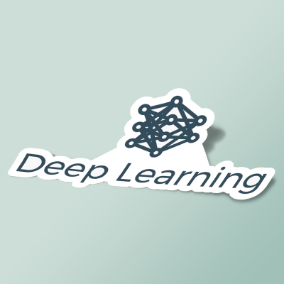 استیکر Deep Learning 01