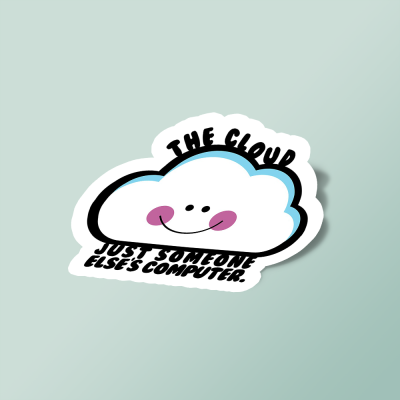 استیکر The Cloud