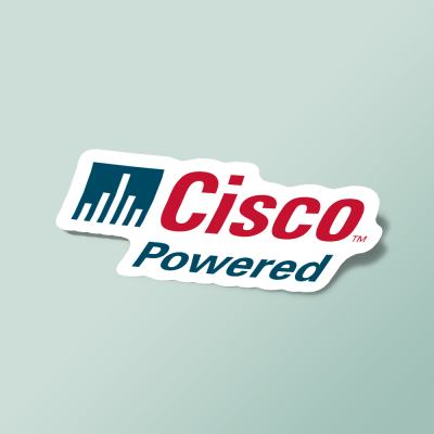 استیکر Cisco_Powered_Network