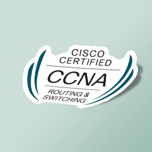 استیکر cisco certified