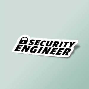 استیکر Security Engineer