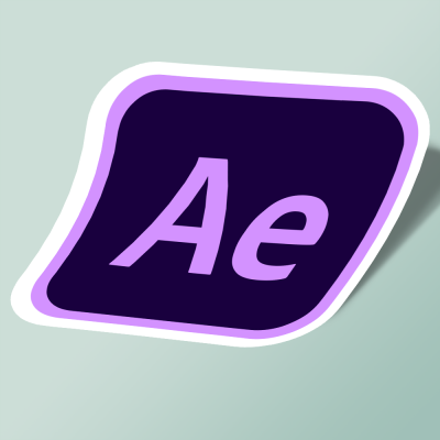 استیکر adobe after effects