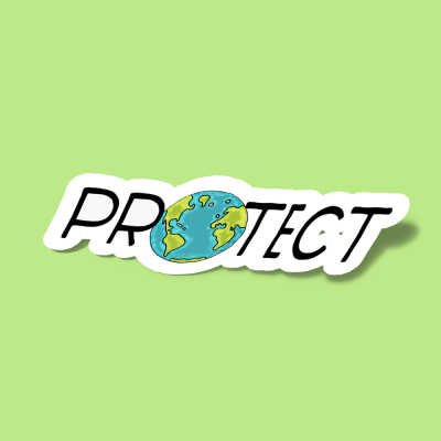 استیکر Protect Earth 2