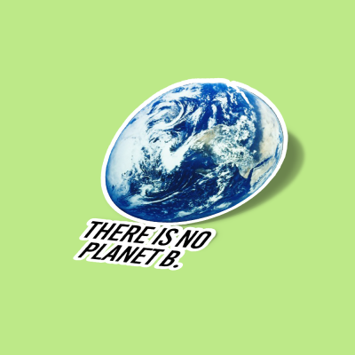 استیکر There is no Planet B