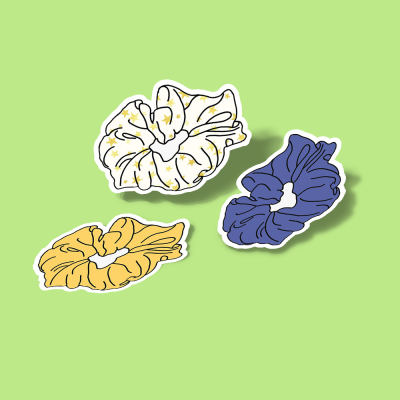 استیکر Scrunchie Pack