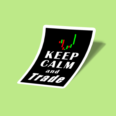 استیکر Keep Calm And Trade