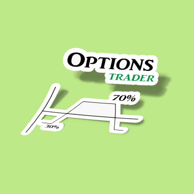 استیکر OPTIONS TRADING IRON CONDOR