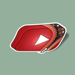 استیکر cocoa youtube