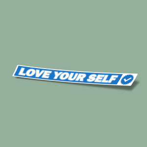 استیکر love your self