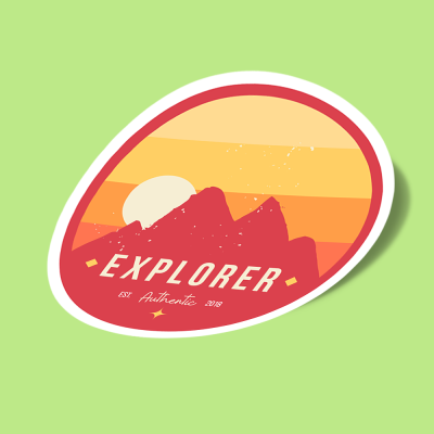 explorer red mountains