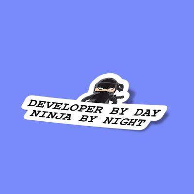 developer by day ninja by night