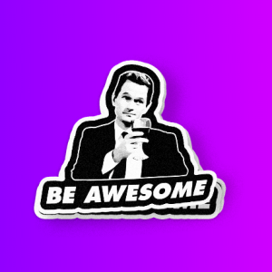 Be Awesome  بارنی