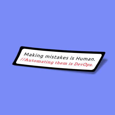 making mistakes is human