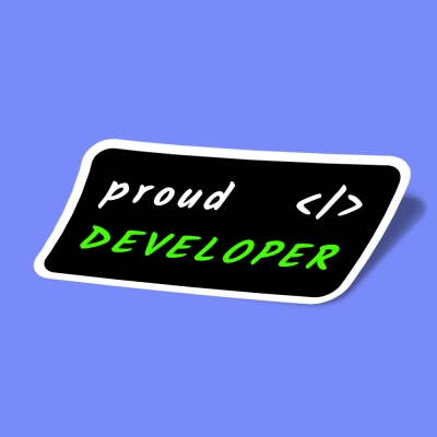 proud developer