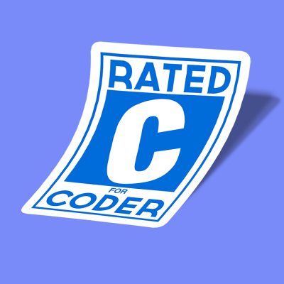rated c for coder