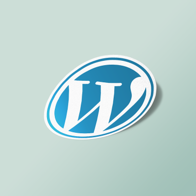 استیکر Wordpress