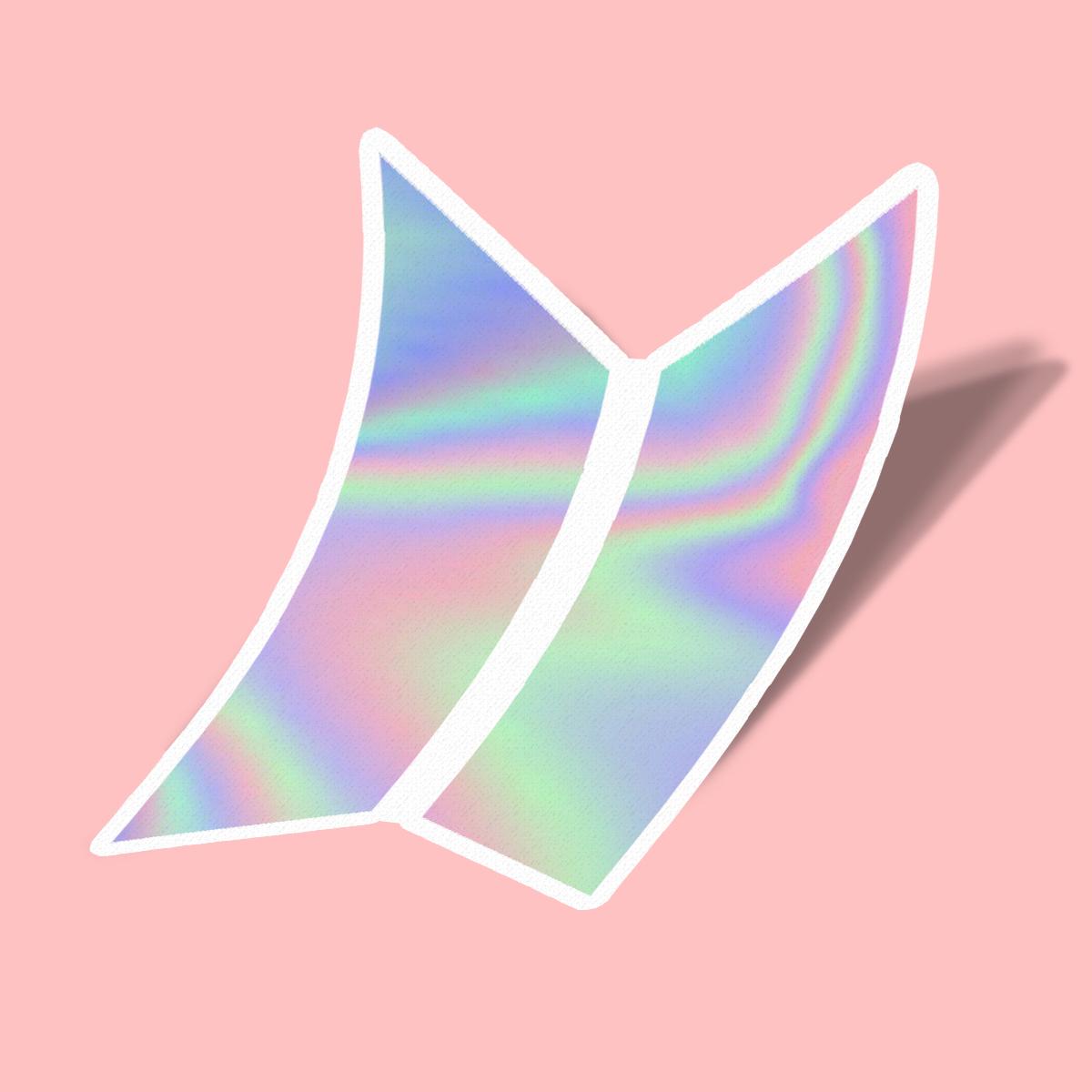 تصویر استیکر BTS Logo 1