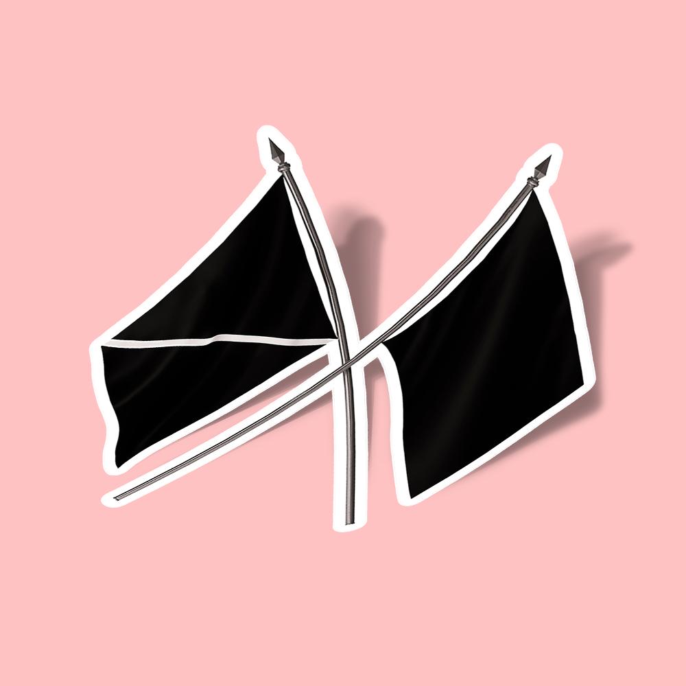 تصویر استیکر EXO OBSESSION FLAG
