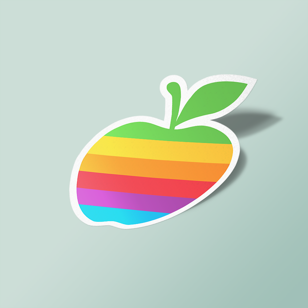 colourful apple
