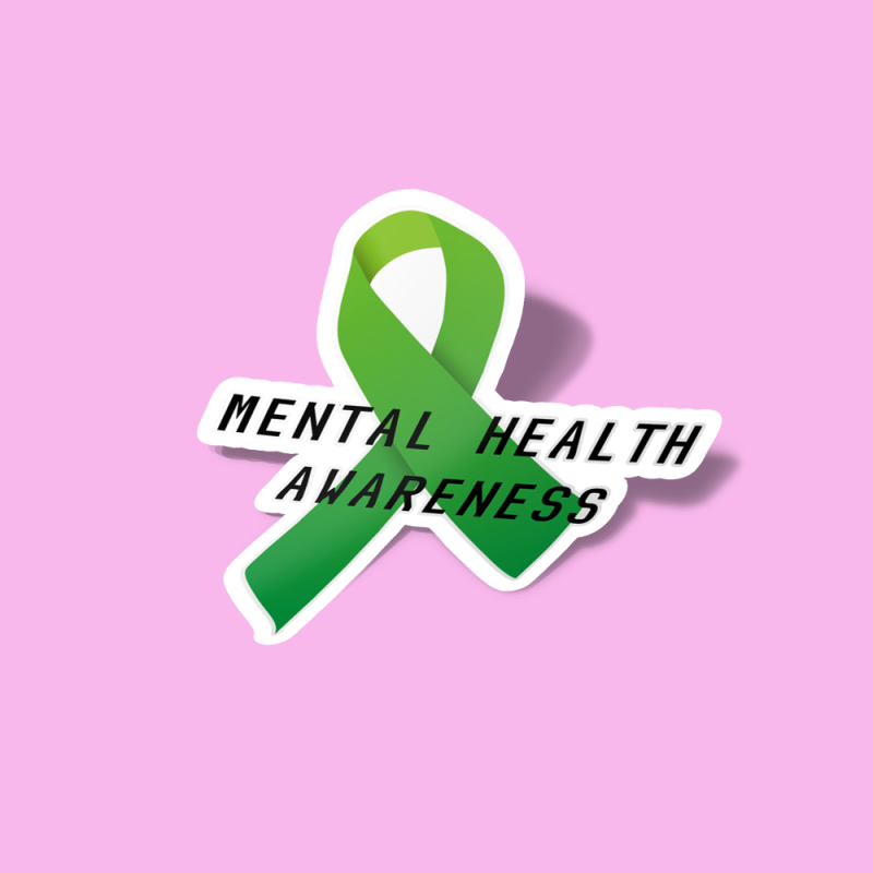 استیکر Mental Health Awareness Ribbon