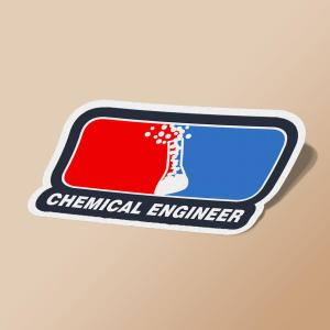 استیکر Chemical Engineer League