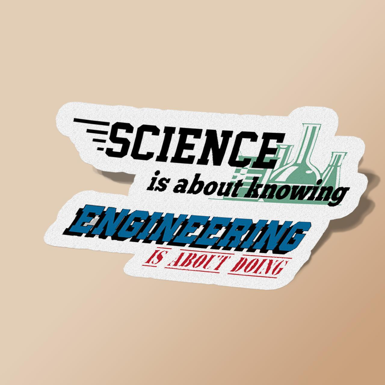 Science is about knowing