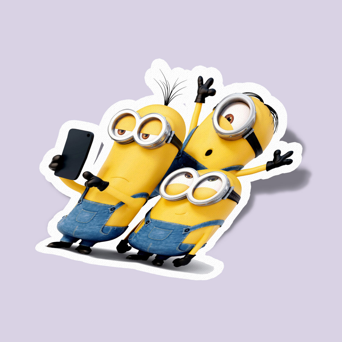 Minions take selfy